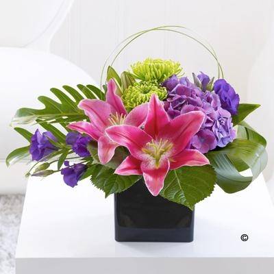 Lily and Hydrangea Arrangement *
