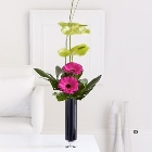 Gerbera and Anthurium Vase *