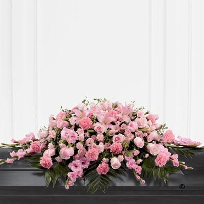 Mixed Casket Spray   Pink *