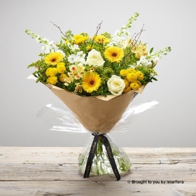Lemon Drizzle Hand tied