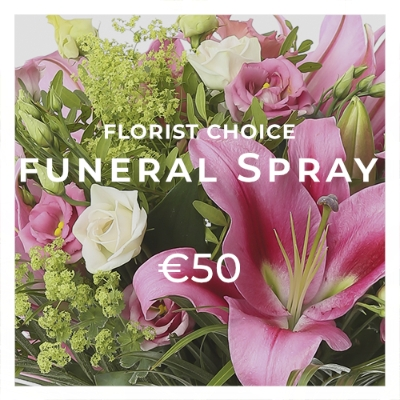 Funeral Spray €50